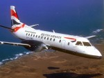 A Saab 340 plane was involved in the incident