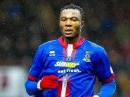 Edward Ofere scored on his Caley Thistle debut on Saturday