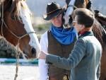 Princess Anne visits Horseback UK, near Aboyne