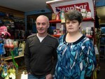 Pets Palace owner Graham Skene and staff member Linda McRobbie