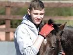 Stuart Edwards and Archie, at Horseback UK