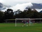 Claggan Park is unplayable following heavy rain