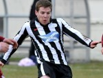 Davie Allan was on the scoresheet for Wick Academy today