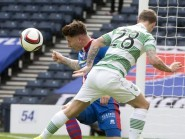 Josh Meekings appeared at Hampden today to fight the cup final ban