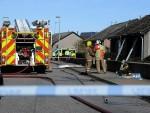 Fire at Ravenscraig Road, Peterhead