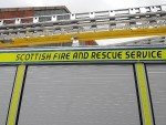 Fire crews from Dingwall, Invergordon and Tain were called to the scene