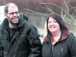 Michael Irvine and Louise Cogle - for story by Shetland News