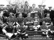 Beauly Shinty Club, winners of Camanachd Cup  1912-13