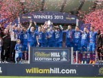 Caley Thistle lifted the Scottish Cup last season.