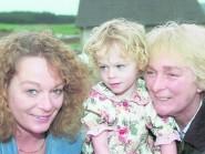 JASMINE DODDS WITH HER MOTHER SARAH DODDS AND GRANDMOTHER FLORA DEMPSTER