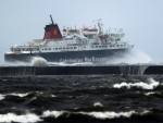 Ferry services across the west coast were cancelled or disrupted