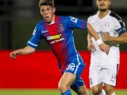 Ryan Christie in action for Caley Thistle against FC Astra