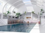 A provisional artist impression of Bon Accord Heritage's vision for the Bon Accord Baths. Picture from Craig Adams, Bon Accord Heritage trustee