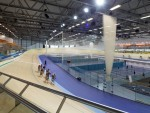 The Inverness velodrome could be similar to the existing one in Derby