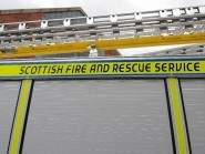Fire crews were called to a gorse blaze earlier tonight