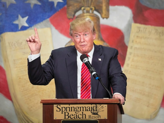 Donald Trump has come under-fire for comments made during his US ...