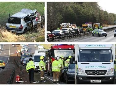 The crash on the A9