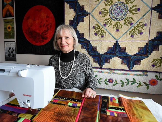 The Knitting And Stitching Show The Royal Highland Centre : Aberdeen quilter to represent Scotland at national knitting show - Press and ...
