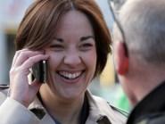 Scottish Labour leader Kezia Dugdale took her campaign to Dunfermline