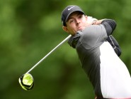 Rory McIlroy is six shots off the lead after two rounds of the Wells Fargo Championship