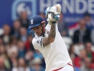 Alex Hales produced an atypically patient innings to help rescue England from a spot of bother