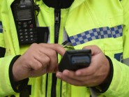 Police are hunting three men who conned a pensioner by pretending to carry out work on her Whitburn home