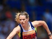 Eilidh Child is the reigning 400 metres hurdles European champion.