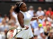 Serena Williams eased through round one of Wimbledon