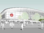 Plans for the new Aberdeen FC stadium