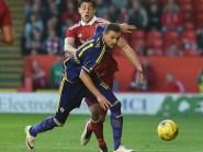 Aberdeen defender Ashton Taylor