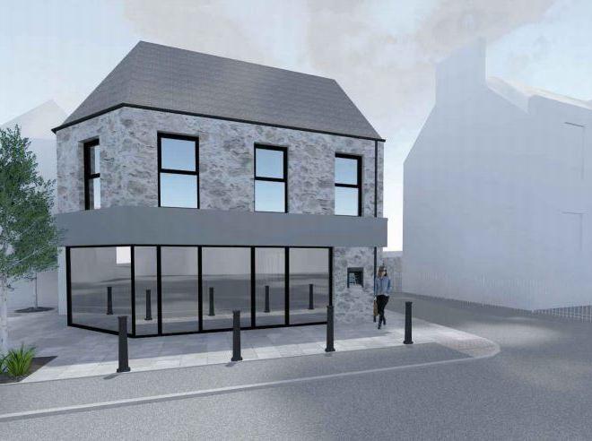 The plans for Meldrum Motors, in Oldmeldrum