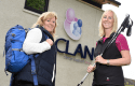 Chief Executive of CLAN Colette Backwell who is looking forward to the CLAN Go Purple Scottish Treks organised by BackStrong Adventures founded by Gillian Fowler.