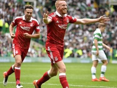Adam Rooney celebrates his goal