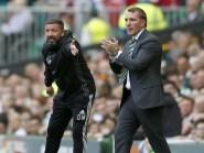Brendan Rodgers, right, revealed his reason for dropping Celtic goalkeeper Craig Gordon