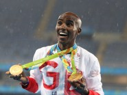 Mo Farah won two of Great Britain's 27 gold medals in Rio