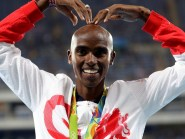 Mo Farah won two gold medals in Rio