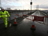 The Forth Road Bridge had to be shut to all traffic early in December when a crack in a truss end link was discovered during a routine inspection