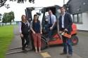 Lynne Ferguson (Tayforth Machinery Ring), Lynne Macarthur (Highlands Machinery Ring), Stuart Jamieson (SAYFC), Michael Bayne (Borders Machinery Ring)