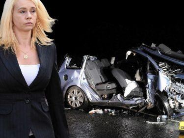 Pauline Flynn caused the accident near Clola