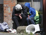 The figures concern households which fall into the 'homeless' category