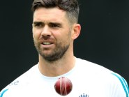 James Anderson has been struggling with a shoulder injury over the summer