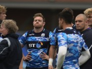 Edinburgh forward Kevin Bryce, pictured centre, is hopeful he can regain his Scotland place
