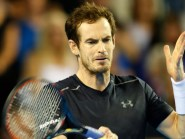 Andy Murray in Davis Cup action
