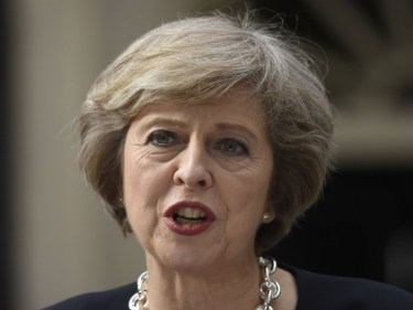"""The think-tank criticised Theresa May's """"silence"""" on her negotiating position for leaving the EU"""