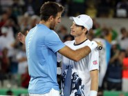 Andy Murray, right, and Juan Martin Del Potro will resume their rivalry in Davis Cup