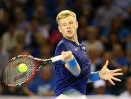 Great Britain's Kyle Edmund was edged out by Richard Gasquet