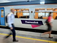 Thameslink services were hit by over-running engineering work