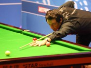 Ronnie O'Sulivan, pictured, suffered a shock defeat to Chris Wakelin in the English Open in Manchester
