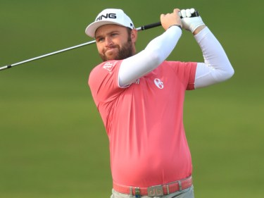 Andy Sullivan produced a fantastic second round to become co-leader at the Portugal Masters