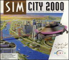 Sim City 2000 Cover Art